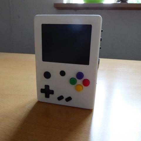 P1010989_display_large.JPG Download free STL file Portable Raspberry Pi game console • 3D printing object, Lassaalk