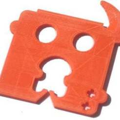 "Download free STL file ""Chip Clip""  Multi-Tool • 3D printer design, Lassaalk"