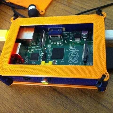 Download free 3D printing designs Modular raspberry pi case, Lassaalk
