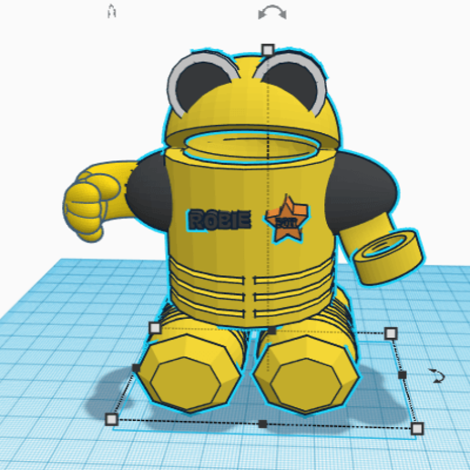 Download free 3D printer templates robot slot machine, nicobel1808