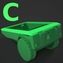 C1-newmodel.jpg Download OBJ file PiMowBot Case (Raspberry Pi based robotic lawn mower) • 3D printing model, TIME