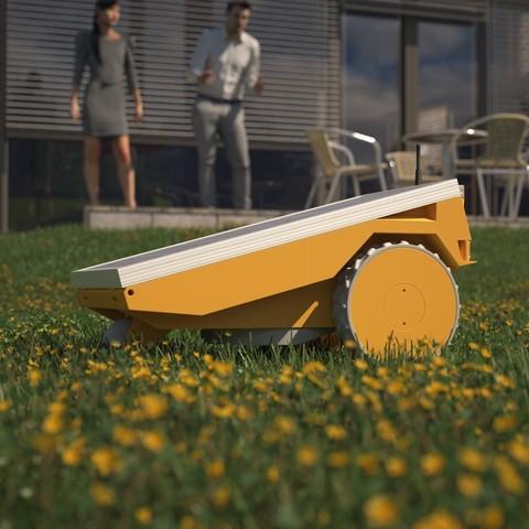 Download STL file PiMowRobot Case (Raspberry Pi based robotic lawn mower), TIME