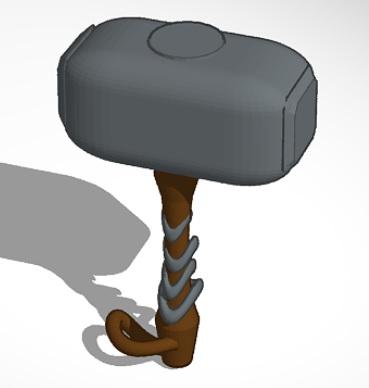 martillo.jpg Download free STL file thor's hammer • 3D print design, jlruizbautista2010
