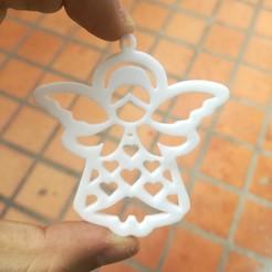 Download STL file keychain angel communion confirmation baptism, petersantos413