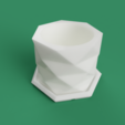 Download STL files PolyPot – Plant Pot and Tray, mikedelcastillo