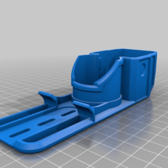 b21b4061343bbc61f8ee4759d3a1f80b.png Download STL file nerf laser ops pro phone holder • 3D printable template, webot