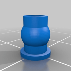 Download free STL file rc ball stud • 3D printer object, webot