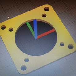 20200909_194148.jpg Download free STL file 40 to 30 fan plate • 3D printing object, webot