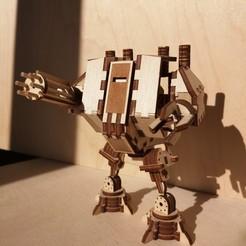 Imprimir en 3D Martillo de ametralladora Dreadnought 40k, gravit0n39