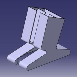 Download free 3D printing templates Phone Holder, srinathtaduri365