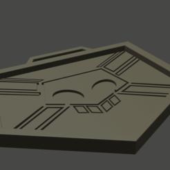 Télécharger fichier STL gratuit badge de la faucheuse d'âmes en remplacement de l'eau de Javel • Plan pour imprimante 3D, akakori