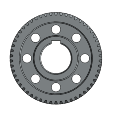 Download STL file Gear • 3D printable model, Vlada1233
