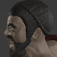 Download free STL file King Leonidas: Gerard Butler Bust • 3D printing design, DFB93