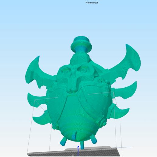 Sliced potion.png Download STL file Wow Poison Potion • 3D printer design, DFB93