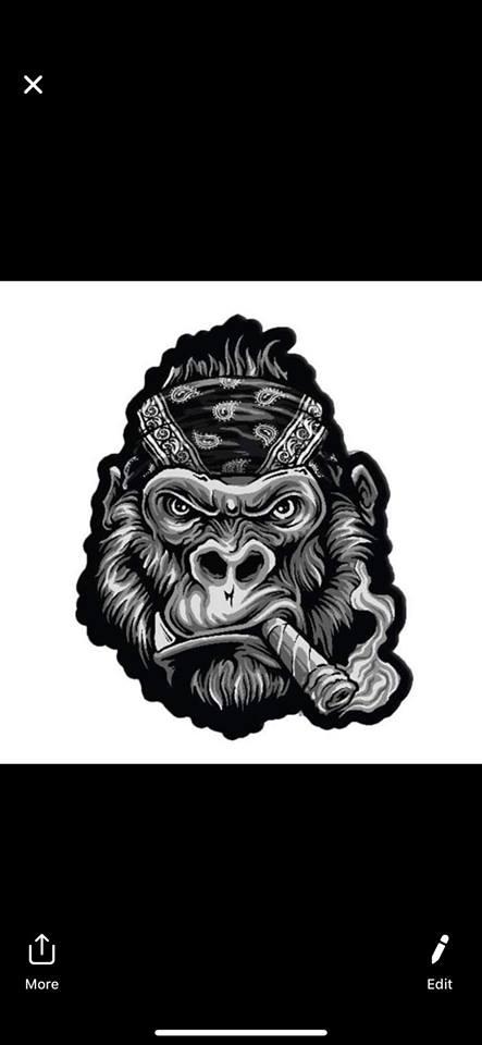 69352067_10218352243551780_4925393023887474688_n.jpg Download free STL file Gang Gorilla Free 3D print model • 3D printer design, DFB93
