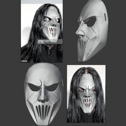 slipknot 1.png Télécharger fichier STL Slipknot Mick Thomson Vol.3_ (The Subliminal Verses) (2004) • Modèle imprimable en 3D, DFB93