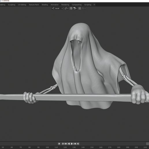 progress.png Télécharger fichier STL gratuit Hockey Fantôme • Design pour imprimante 3D, DFB93