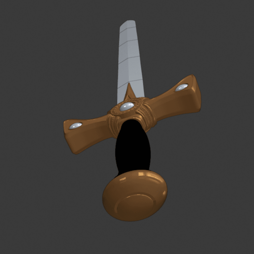 """sword 4.png Download free STL file Xena's Sword """"The Quill is Mightier..."""" • 3D printer object, DFB93"""