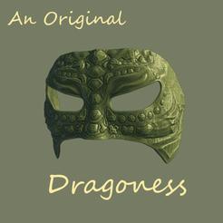 Impresiones 3D gratis Máscara de Dragoness Original, DFB93