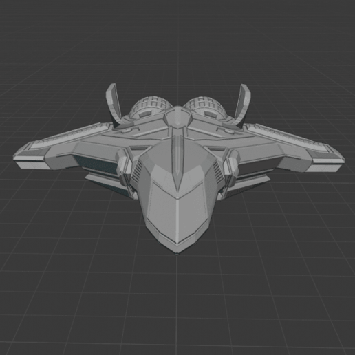 front.png Download free STL file STARSHIP • 3D printing model, DFB93