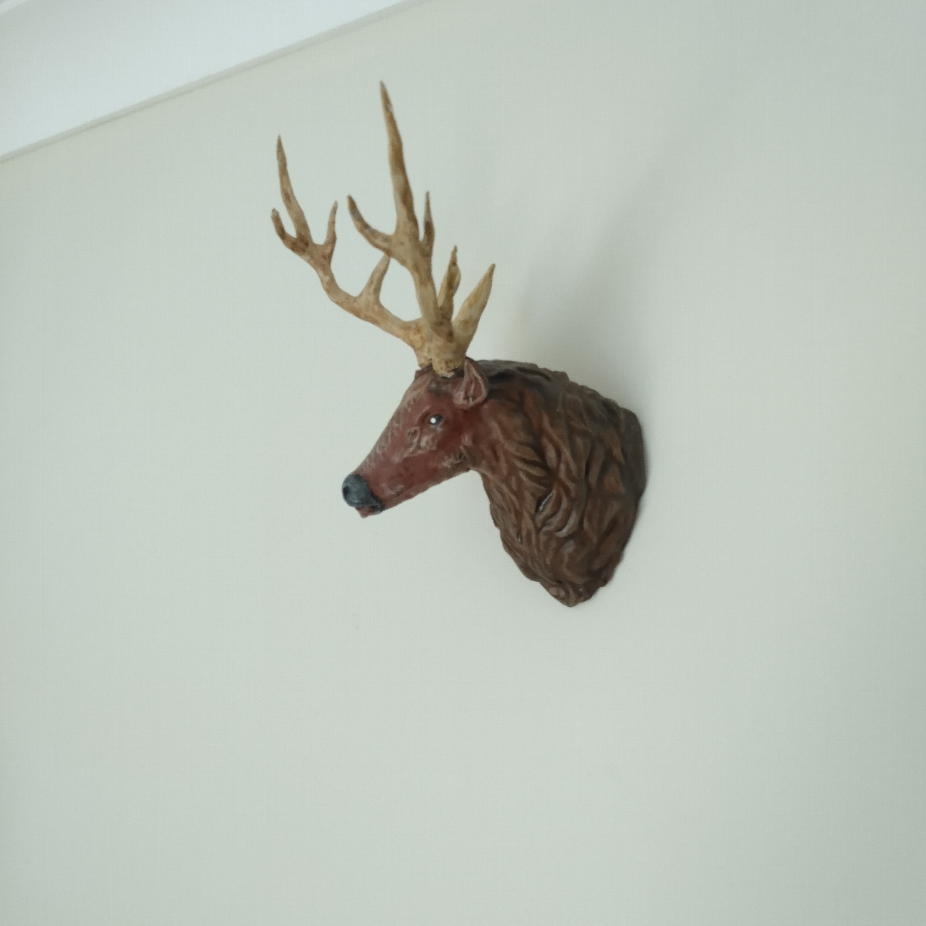 stag 13.png Download free STL file Stag Trophy • 3D printing object, DFB93