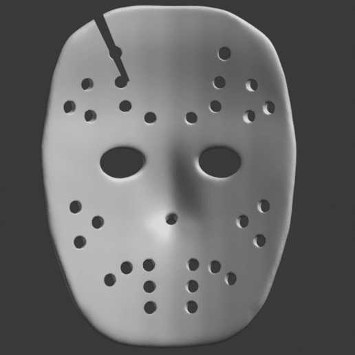 Download 3D Printer Files Jason Voorhees Mask ・ Cults