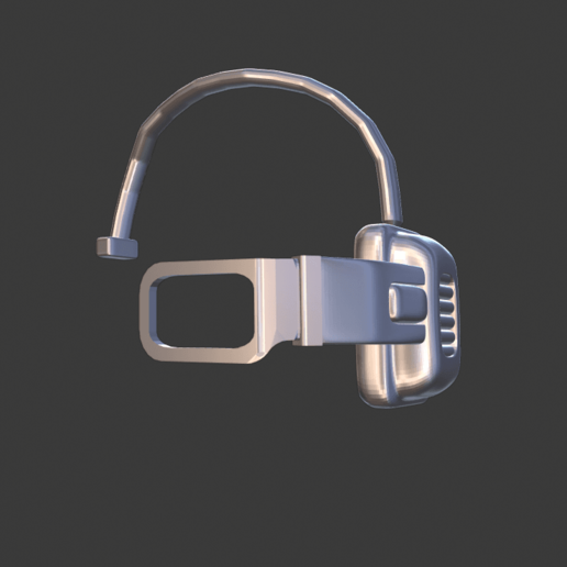 scouter.png Download free STL file DragonBall Z Scouter • 3D printing object, DFB93