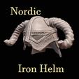 Télécharger fichier imprimante 3D gratuit Dovahkiin Nordic Helm Skyrim, DFB93