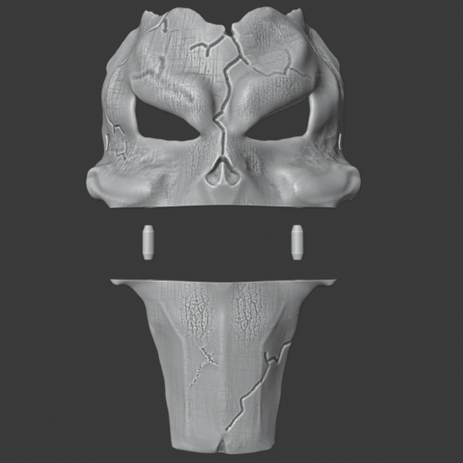 deaths mask 4.png Download free STL file Deaths Mask Darksiders The Executioner • 3D printable template, DFB93