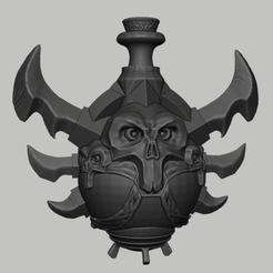 potion 1.png Download STL file Wow Poison Potion • 3D printer design, DFB93