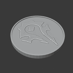 Horde.png Download free STL file Horde/Alliance Flip Coin • 3D print template, DFB93