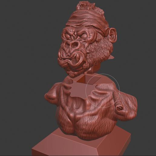 Screenshot (155).png Download free STL file Gang Gorilla Free 3D print model • 3D printer design, DFB93