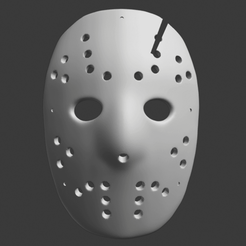 Télécharger fichier 3D Masque Jason Voorhees, DFB93