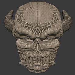 Télécharger fichier impression 3D Le démon des os Helm, DFB93