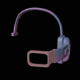 scouter 5.png Download free STL file DragonBall Z Scouter • 3D printing object, DFB93