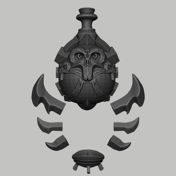 potion 7.png Download STL file Wow Poison Potion • 3D printer design, DFB93