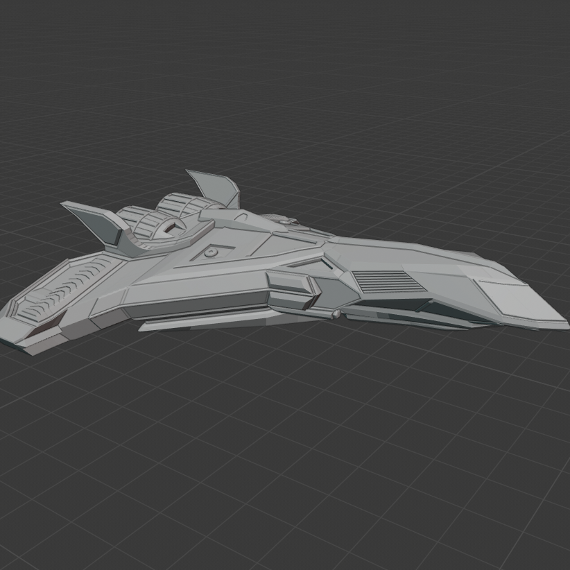 First.png Download free STL file STARSHIP • 3D printing model, DFB93