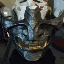 Descargar archivo STL Fantasma de Tsushima: Máscara de Fantasma • Plan para imprimir en 3D, DFB93