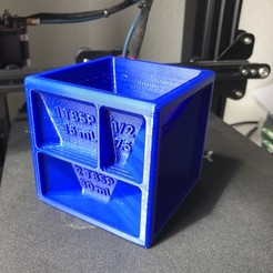 Download free 3D printer designs Dosing cube, frostus