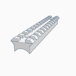 Download 3D model AK dustcover rail tula1000, AP_w0rks