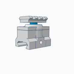 Download STL files Rotating ris rail mount, AP_w0rks