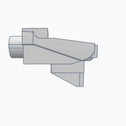 Download 3D printer templates SVD m4 stock&grip adapter, AP_w0rks