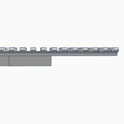 Download 3D printer designs SVD sight ris rail adapter, AP_w0rks