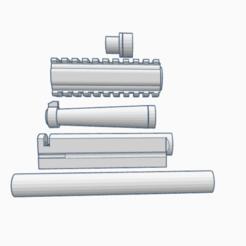Download 3D printing files Ruger mk1 KJW custom barrels, AP_w0rks