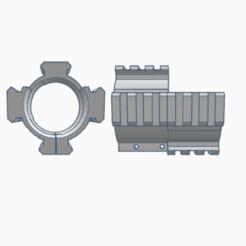 Download 3D printer designs VSS / AS VAL quad rail , AP_w0rks