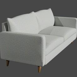 Download free STL Sofa, castterricardo