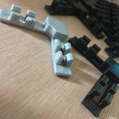 IMG_2764.JPG Télécharger fichier STL Clips cage à la lapin • Objet à imprimer en 3D, rfdm