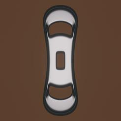 tool shape 4a.png Download OBJ file curve clip • 3D print design, meharban