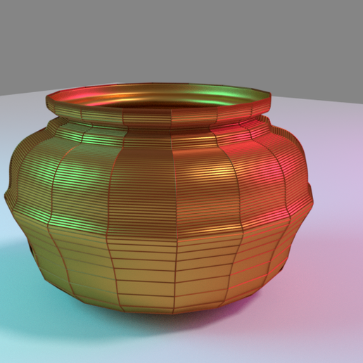 Download free OBJ file 3D Pitcher • 3D print template, meharban