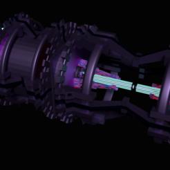 Télécharger fichier impression 3D sci fi space iron piston, meharban